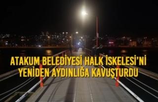 Atakum Belediyesi Halk İskelesi'ni Yeniden Aydınlığa...