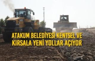 Atakum Belediyesi Kentsel Ve Kırsala Yeni Yollar...