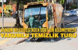 Atakum Belediyesi'nden Dört Bin Kilometrelik Vakumlu...