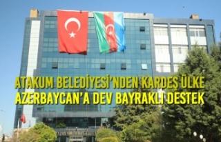 Atakum Belediyesi'nden Kardeş Ülke Azerbaycan'a...