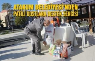 Atakum Belediyesi'nden Patili Dostlara Destek Sergisi