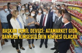 Başkan Cemil Deveci: AtaMarket Gıda Bankası Kimsesizlerin...