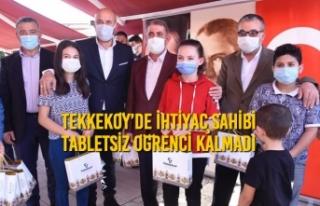 Başkan Togar Sözünü Tuttu ve Tekkeköy'de Tabletsiz...