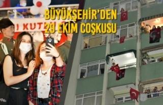 Büyükşehir'den 29 Ekim Coşkusu