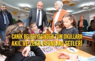 Canik Belediyesinden Tüm Okullara Akıl Ve Zeka Oyunları...