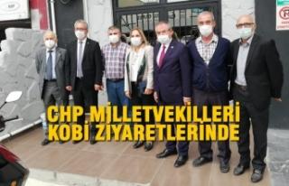 CHP Milletvekilleri KOBİ Ziyaretlerinde
