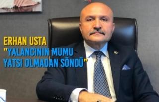 """Erhan Usta """"Yalancının Mumu Yatsı Olmadan..."""