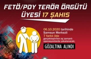 FETÖ/PDY İle Mücadele Kapsamında 17 Şüpheli...