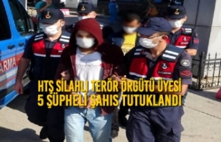 HTŞ Silahlı Terör Örgütü Üyesi 5 Şüpheli...