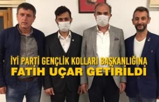 İYİ Parti Gençlik Kolları Başkanı Fatih Uçar...
