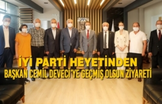 İYİ Parti Heyetinden Başkan Cemil Deveci'ye Geçmiş...