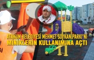 Mehmet Soykan'ın Anısı Atakum Belediyesi'nin...