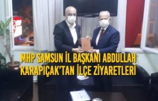 MHP Samsun İl Başkanı Abdullah Karapıçak'tan...