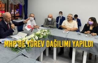 MHP'de Yeni Yönetim İlk Toplantısını Gerçekleştirdi