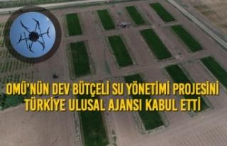 OMÜ'nün Dev Bütçeli Su Yönetimi Projesini Türkiye...