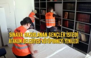 Sınava Hazırlanan Gençler İstedi Atakum Belediyesi...