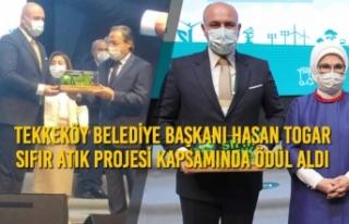 Tekkeköy Belediye Başkanı Hasan Togar Sıfır Atık...