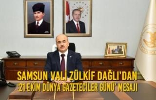 Vali Zülkif Dağlı'dan '21 Ekim Dünya Gazeteciler...