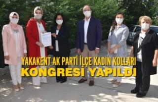 Yakakent AK Parti İlçe Kadın Kolları Kongresi...
