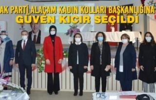 AK Parti Alaçam Kadın Kolları Başkanlığına...