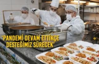 Atakum Belediyesi Karantinadaki Yurttaşlara Yemek...