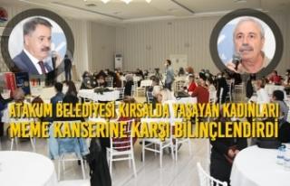 Atakum Belediyesi Kırsalda Yaşayan Kadınları Meme...
