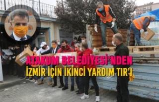Atakum Belediyesi'nden İzmir İçin İkinci Yardım...