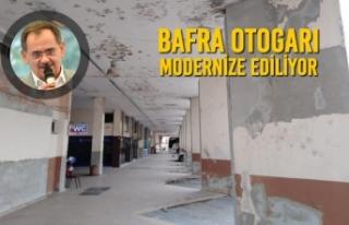 Bafra Otogarı Modernize Ediliyor