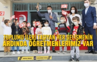Başkan Cemil Deveci: Toplumu İleri Taşıyan Her...