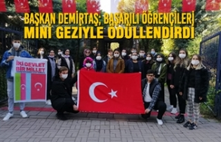 Başkan Demirtaş; Başarılı Öğrencileri Mini...