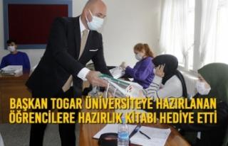 Başkan Togar Üniversiteye Hazırlanan Öğrencilere...