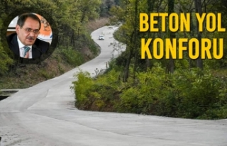 Beton Yol Konforu