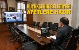 Büyükşehir Belediyesi Afetlere Hazır