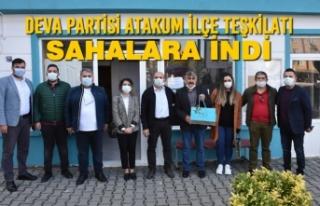 Deva Partisi Samsun Atakum İlçe Teşkilatı Sahalara...