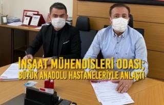 İnşaat Mühendisleri Odası; Büyük Anadolu Hastaneleriyle...
