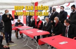 MHP Kan Bağışı Kampanyası Başladı