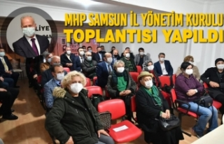MHP Samsun İl Yönetim Kurulu Toplantısı Yapıldı