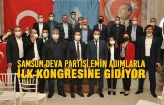 Samsun Deva Partisi Emin Adımlarla İlk Kongresine...