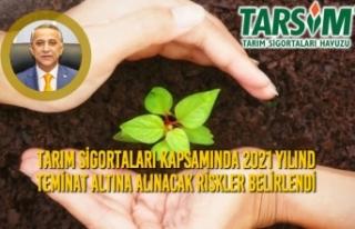 Tarım Sigortaları Kapsamında 2021 Yılında Teminat...