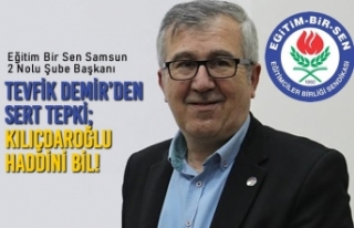Tevfik Demir'den Sert Tepki; Kılıçdaroğlu Haddini...