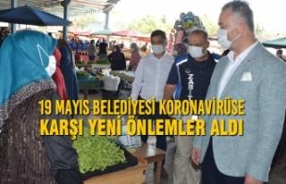 19 Mayıs Belediyesi Koronavirüse Karşı Yeni Önlemler...