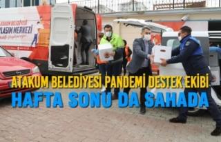 Atakum Belediyesi Pandemi Destek Ekibi Hafta Sonu...