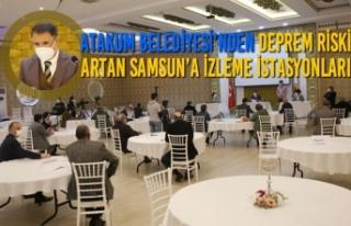 Atakum Belediyesi'nden Deprem Riski Artan Samsun'a...