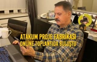 Atakum Proje Fabrikası Online Toplantıda Buluştu