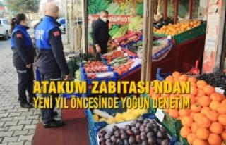 Atakum Zabıtası'ndan Yeni Yıl Öncesinde Yoğun...