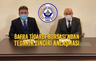 Bafra Ticaret Borsası'ndan Tedarik Zinciri Anlaşması