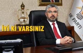 Başkan Aksu'dan Sağlık Çalışanlarına Teşekkür
