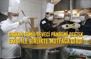 Başkan Cemil Deveci Pandemi Destek Ekibi İle Birlikte...