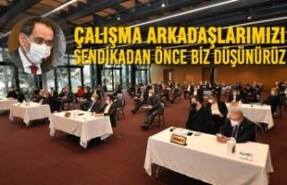 Başkan Demir, SAMULAŞ'taki Grev Kararına Değindi