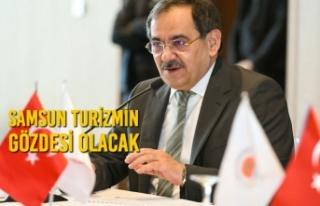 """Başkan Demir: """"Turizm denildiğinde aklınıza..."""